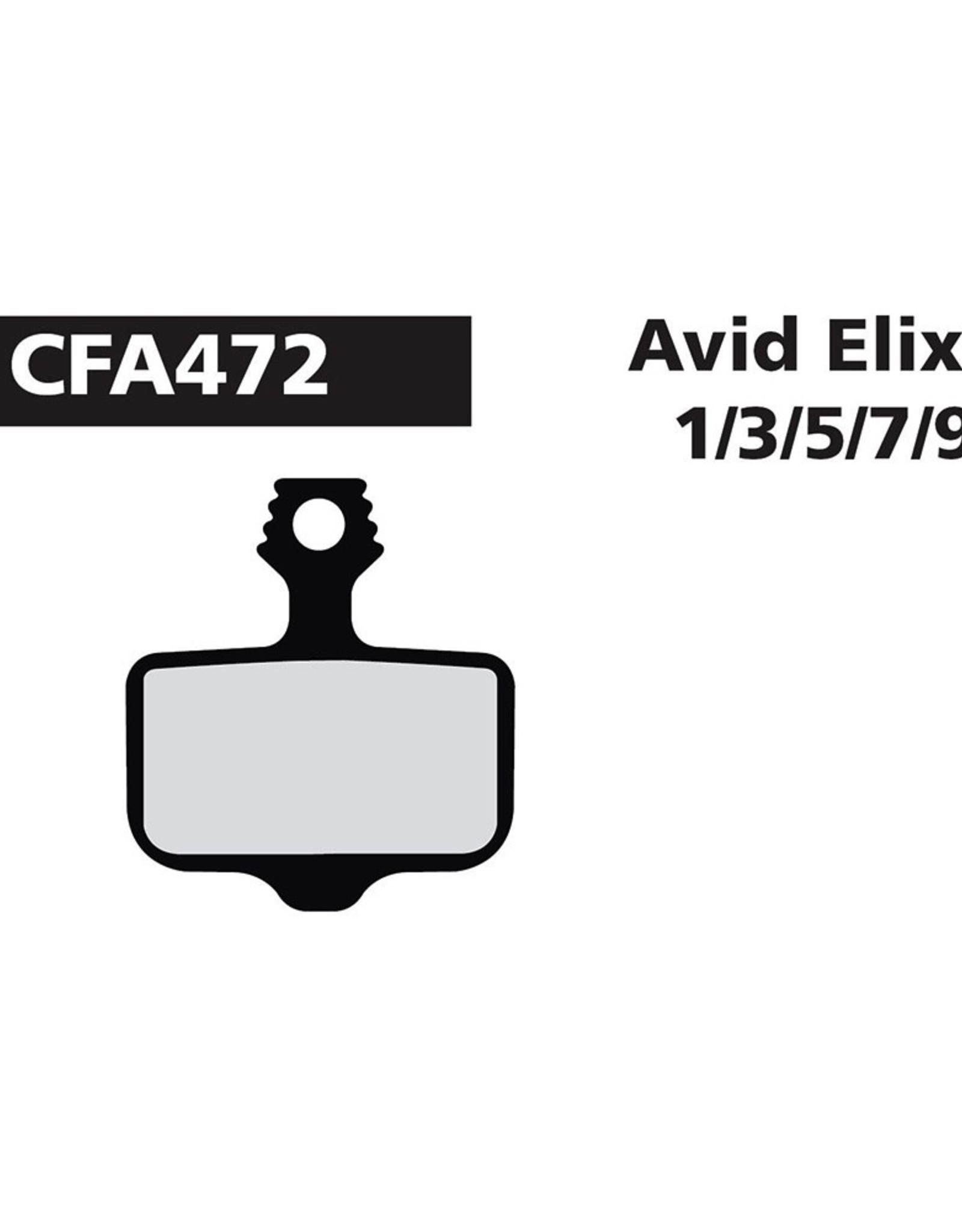 EBC EBC Disc Brake Pads - FA472 Organic (Avid, Sram)
