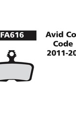 EBC EBC Disc Brake Pads - FA616 Organic (Avid, Sram)