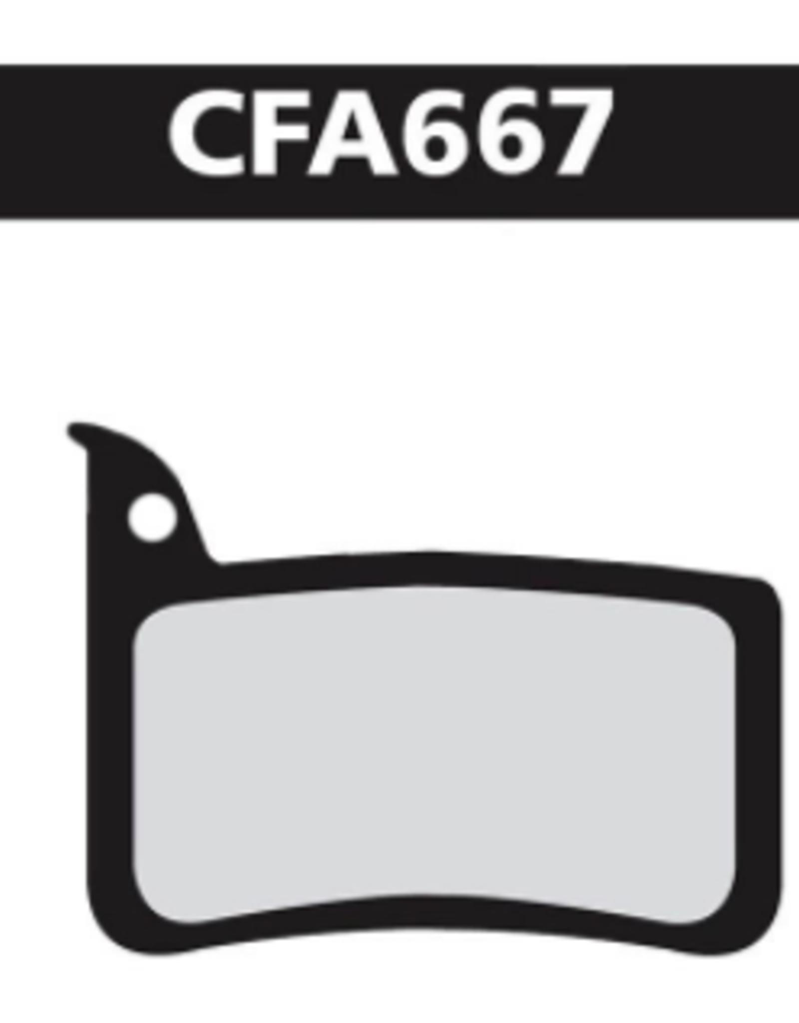 EBC EBC Disc Brake Pads - FA667 Organic (Sram)
