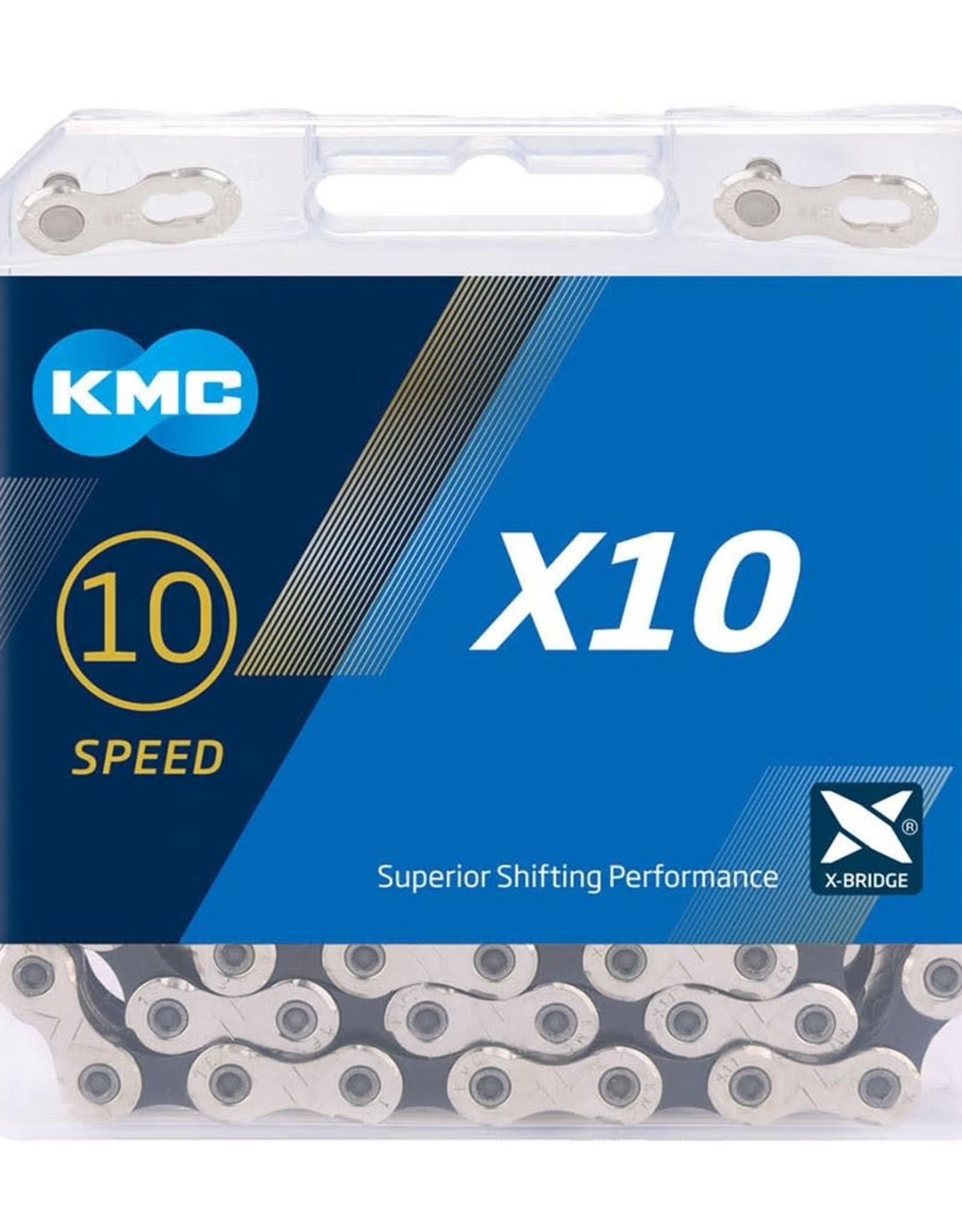 KMC KMC X10 Chain 114L - Grey