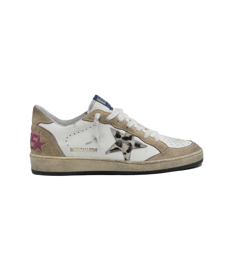 Golden Goose ball star leather cappuccino