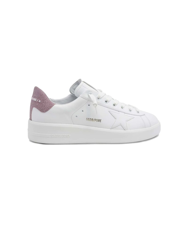 Golden Goose pure star leather white/pink