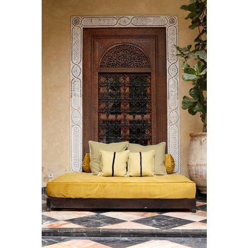 Cushion Diana Olijf