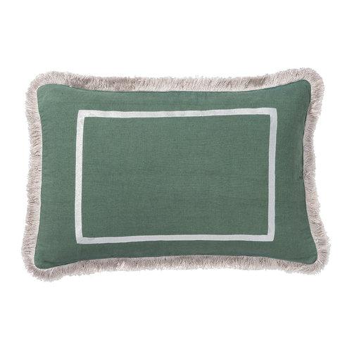 Cushion Grace Grijsgroen