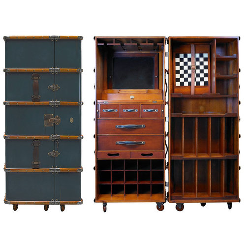 Authentic Models Stateroom Bar - Petrol