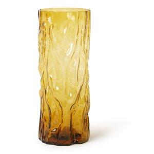 &Klevering Trunk Vase Amber