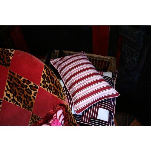 Cushion Loïs Bordeaux (50×30 cm)