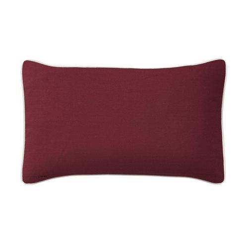 Cushion Diana Bordeaux (30×50 cm)