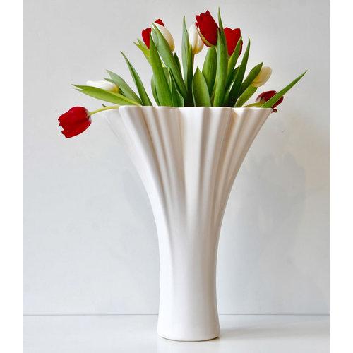 Holland Vase White