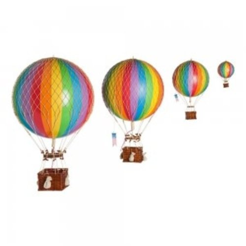 Luchtballon Large Regenboog