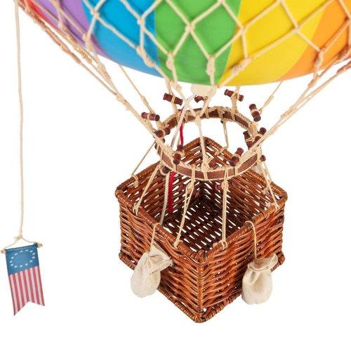 Luchtballon Medium Regenboog