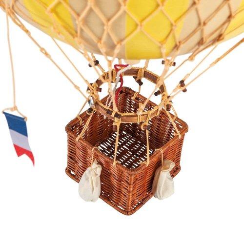 Luchtballon Medium Geel