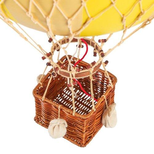 Luchtballon Medium Dubbel Geel