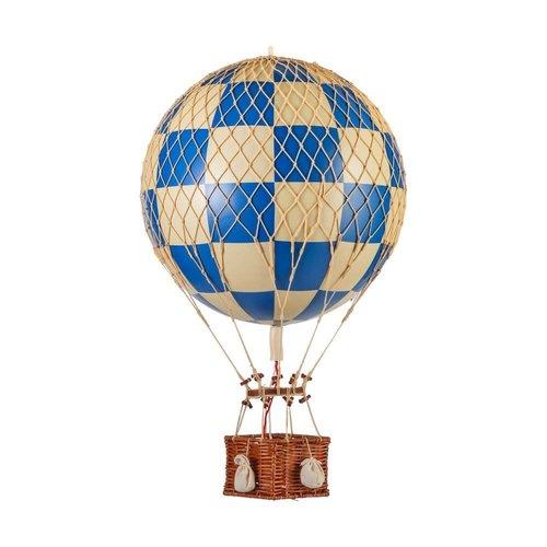Luchtballon Medium Schaak Blauw