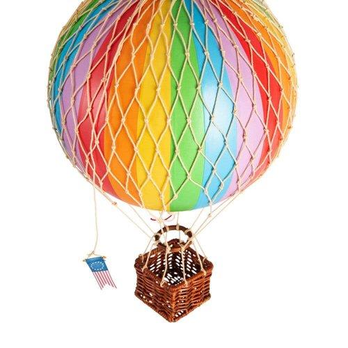 Luchtballon Small Regenboog