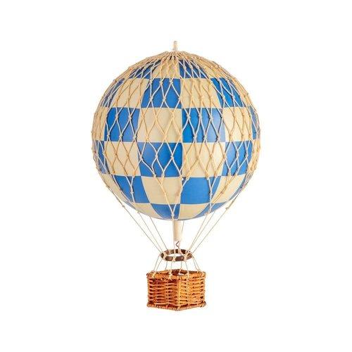 Luchtballon Small Schaak Blauw