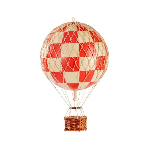 Luchtballon Small Schaak Rood