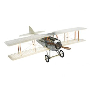 Authentic Models Spad Transparant Airplane Model