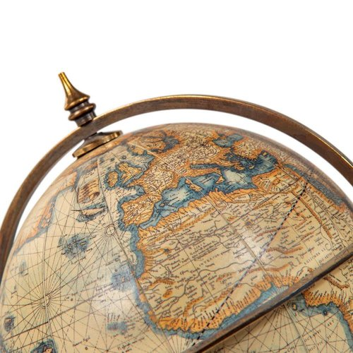 Authentic Models Terrestrial Globe With Compass