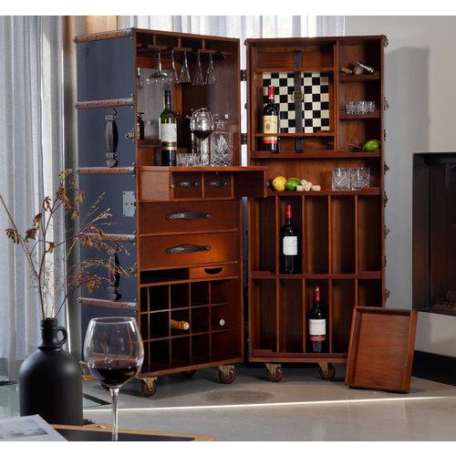 Authentic Models Stateroom Bar - Black