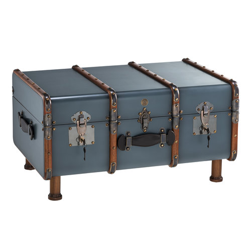 Authentic Models Stateroom Trunk Table - Petrol