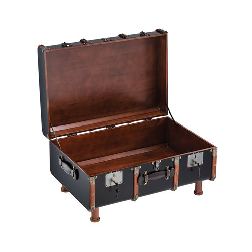 Authentic Models Stateroom Trunk Table - Black