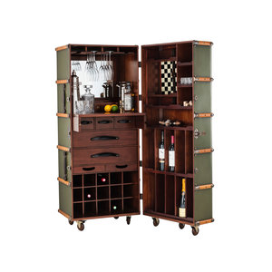 Authentic Models Stateroom Bar - Field Green