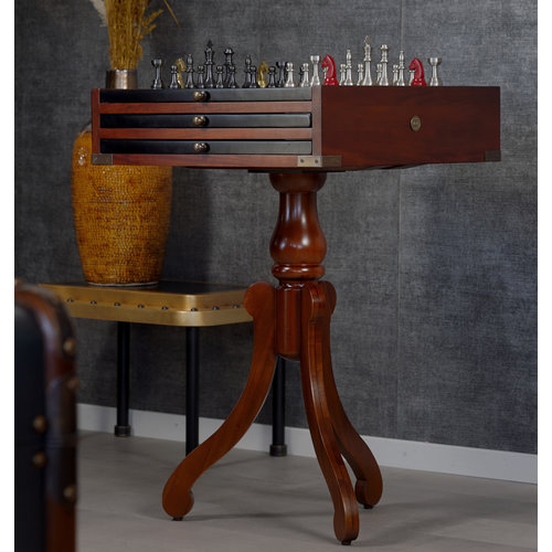 Authentic Models Side Table Game Board