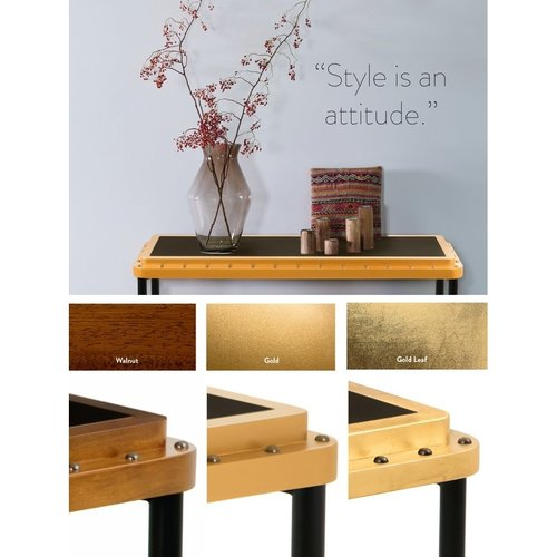 Authentic Models ACE Side Table M - Walnut