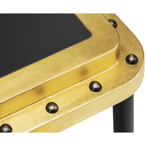 Authentic Models ACE Side Table S - Gold Leaf