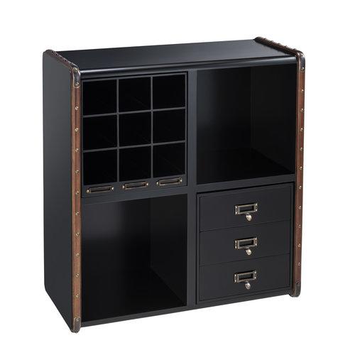 Authentic Models Insert box 1 - Wine Rack Black