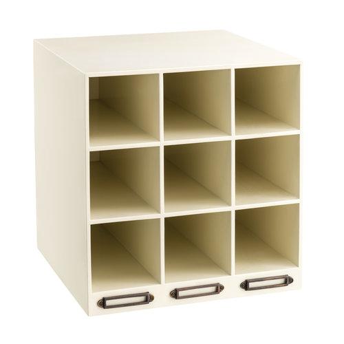 Authentic Models Insert box 1 - Wine Rack White