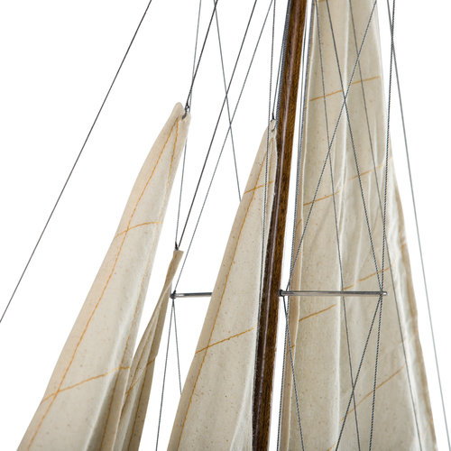 Authentic Models Shamrock Yacht Wood