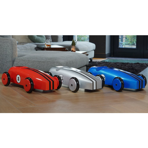 Authentic Models Wood Car Model - Silver