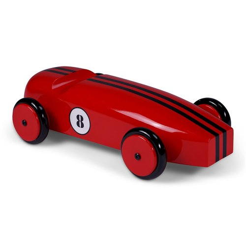 Authentic Models Wood Car Model - Red