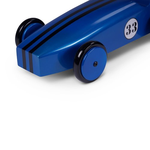 Authentic Models Wood Car Model - Blue