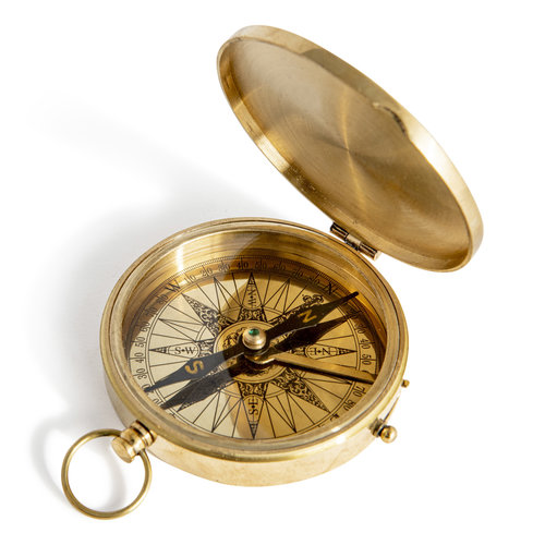 Authentic Models Pocket Compass
