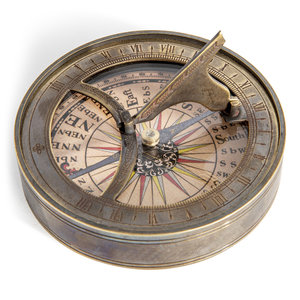 Authentic Models Based on 18th C. Compass-Sundial