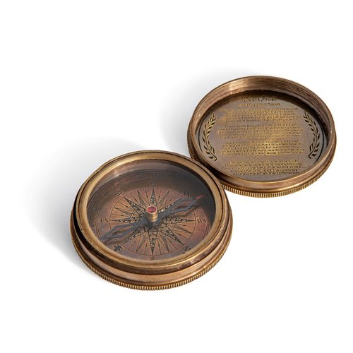 Authentic Models Based on Antique Pocket Compass