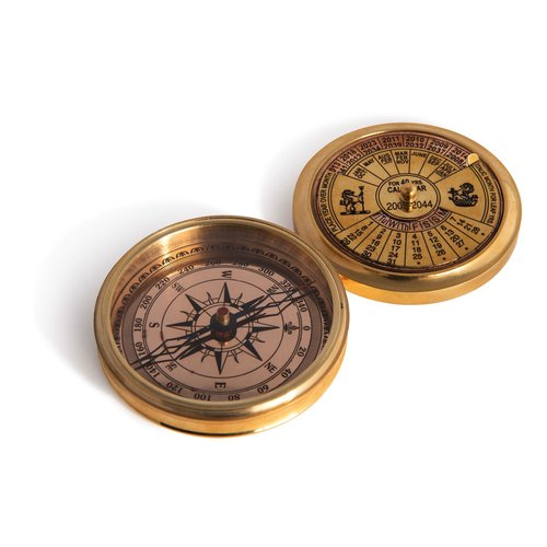 Authentic Models 40-Year Calendar Compass