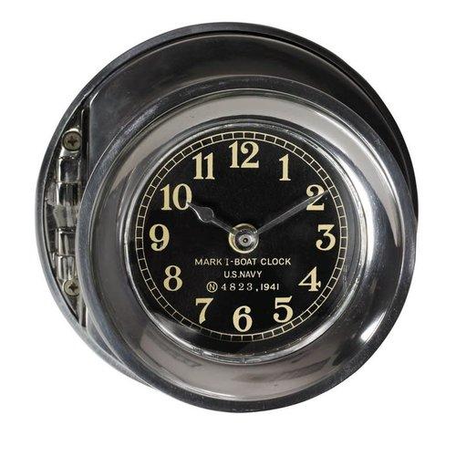 Authentic Models Navy Clock