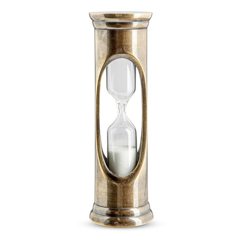 Authentic Models Bronze 3 minute Sandglass