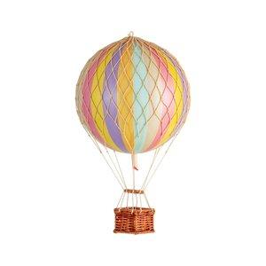 Authentic Models Luchtballon Pastel Rainbow - Small