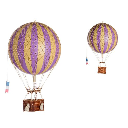Authentic Models Luchtballon Lavender - Small