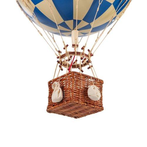 Authentic Models Luchtballon Check Blue - Medium