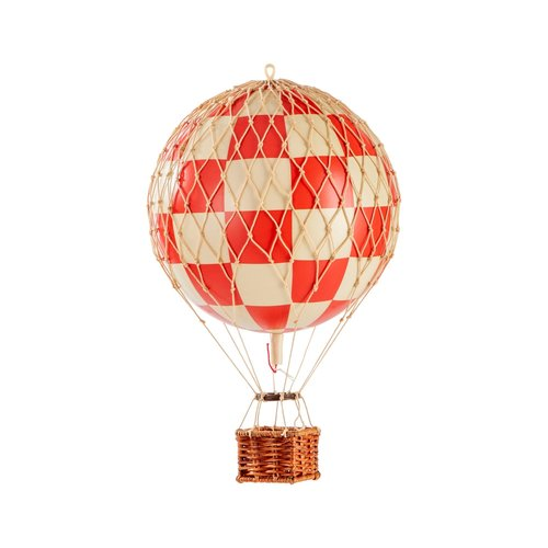 Authentic Models Air Balloon Check Red - Small