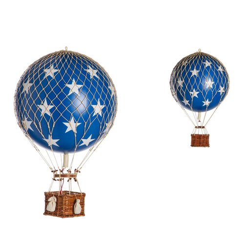 Authentic Models Luchtballon Blue Stars - Small