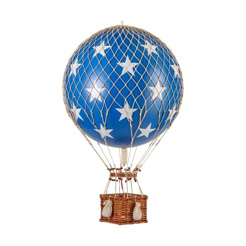 Authentic Models Air Balloon Blue Stars - Medium