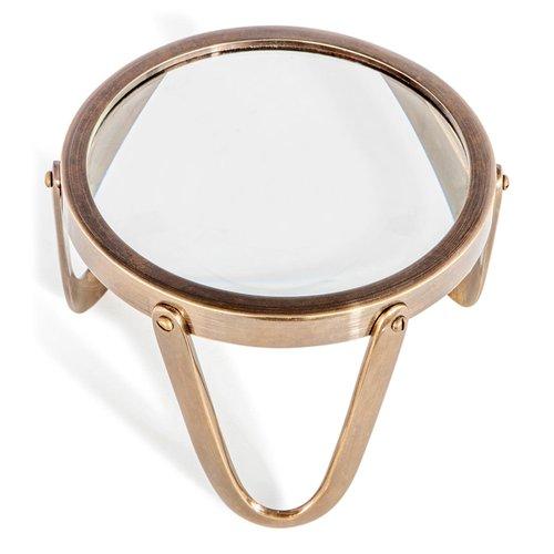 Authentic Models Desk Magnifier 5 Brass