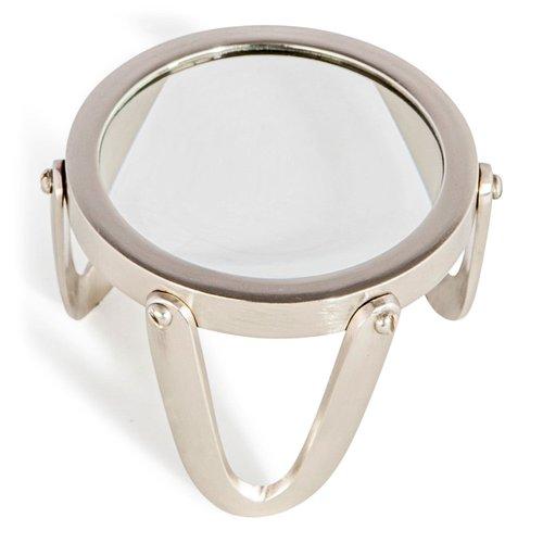 Authentic Models Desk Magnifier 3 Pewter